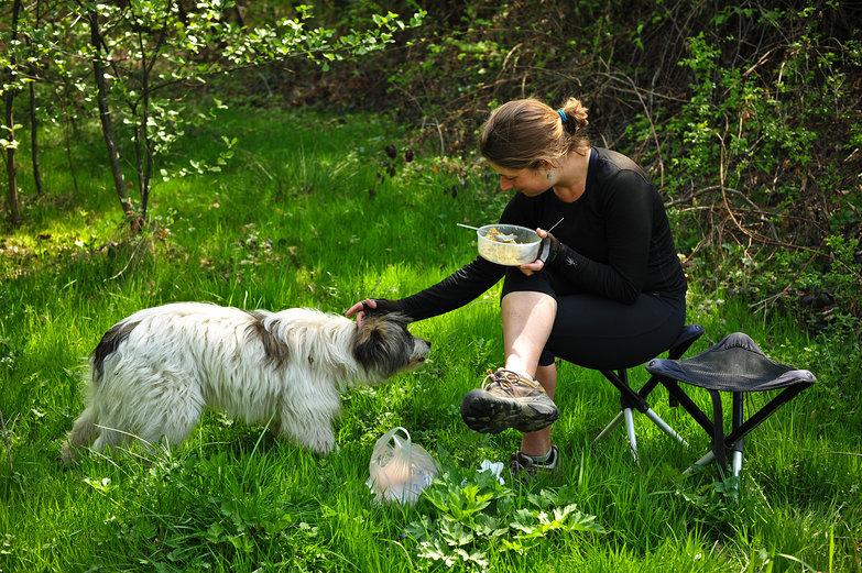 Tara and Doggie
