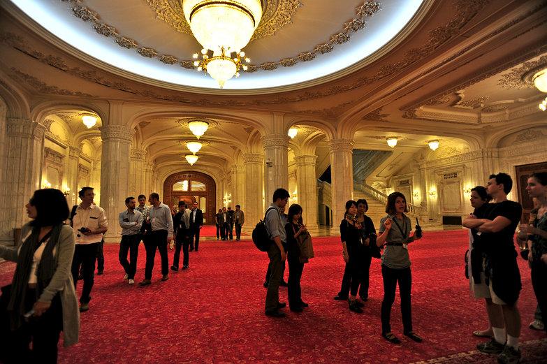 Bucharest Palace of Parliament Tour