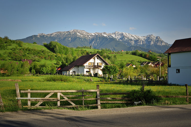 Outskirts of Bran, Romania
