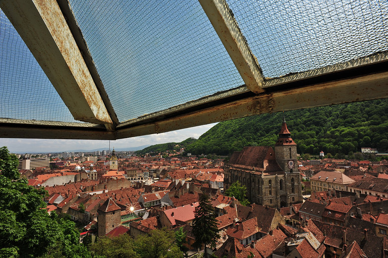 View of Braşov from Black Tower