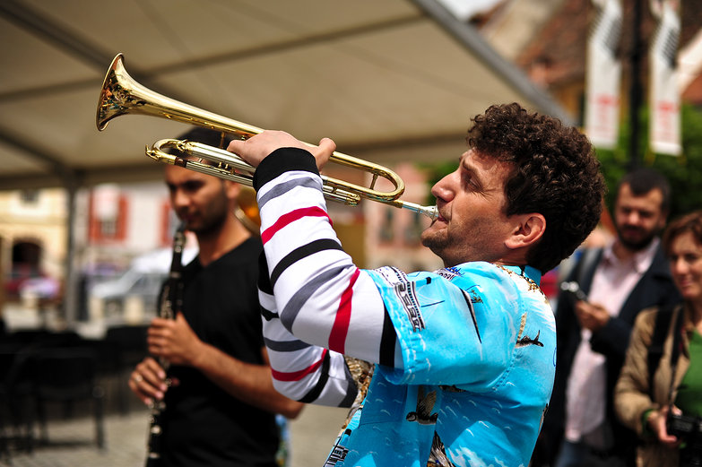 """Fanfara"" Jazz Band Trumpeter"