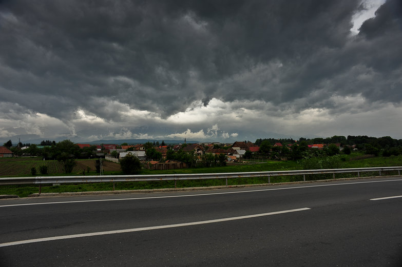 Foreboding Romanian Sky