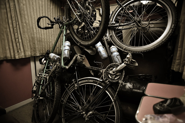 Touring Bicycles in Romanian Sleeper Car