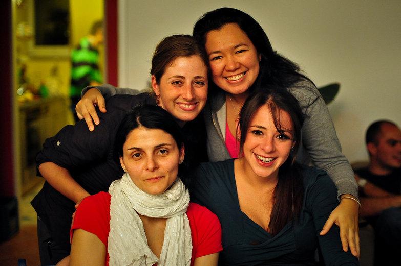 Tara, Yazmin, Karin & Paola