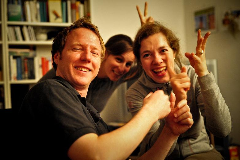 Marcus, Helen & Nadine