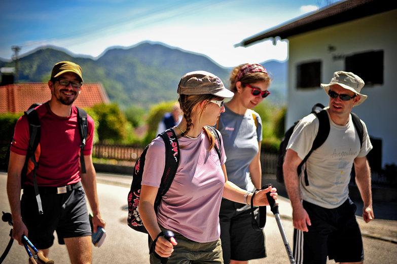 Felix, Helen, Nadine & Jordi Hiking