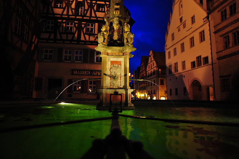 Rothenburg Water Fountain