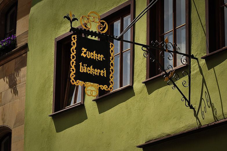 Zucker-Backerei Sign
