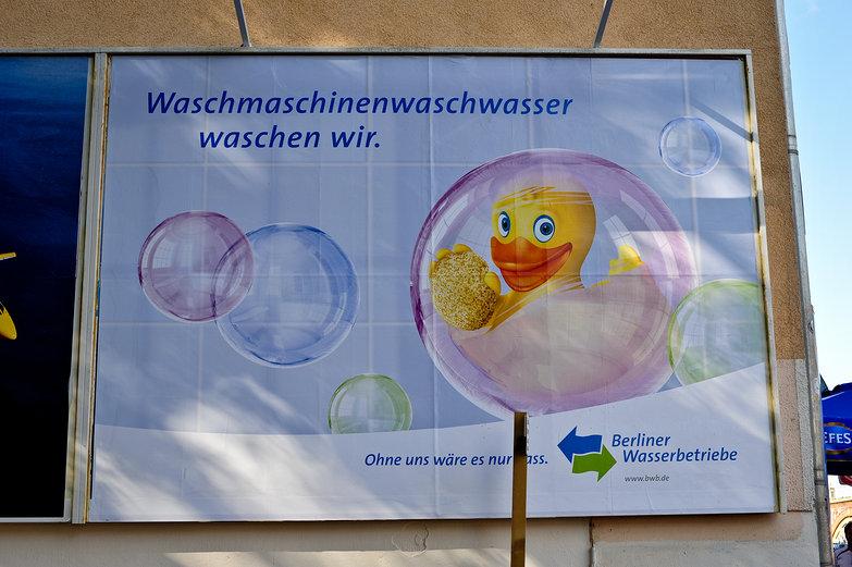 Waschmachinenwaschwasser waschen wir.