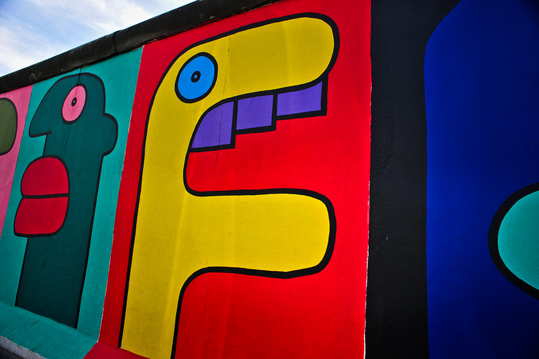 Berlin's East Side Gallery