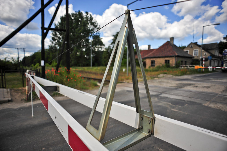 Polish Railroad Barrier