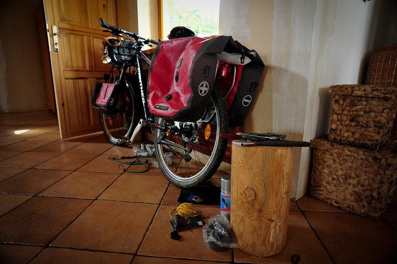 Bike Tour Preparations