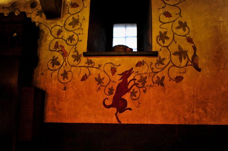 Olde Hansa Restaurant Wall
