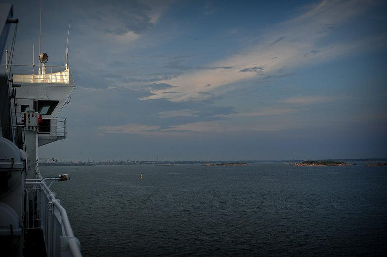 Approaching Helsinki