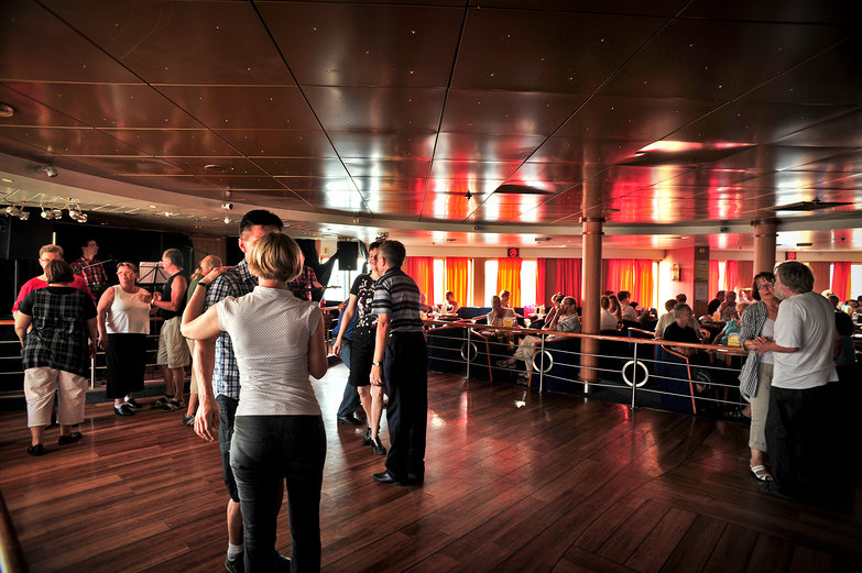 Finnish Ferry Ballroom Dancing