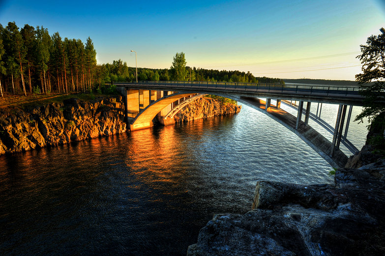 Bridge Near Lappeenranta (HDR)