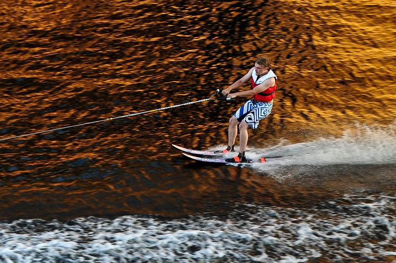 Water Skier in Finland
