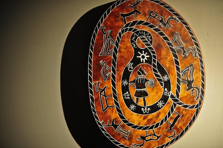 Saami Drum