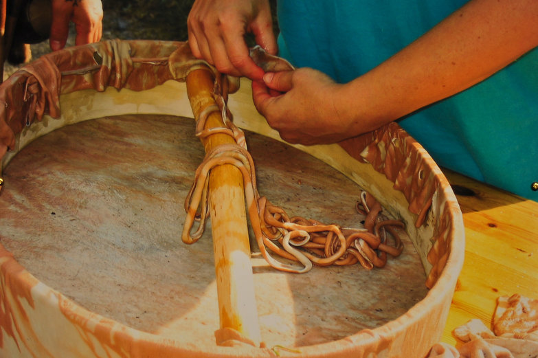 Saami Drum-Making