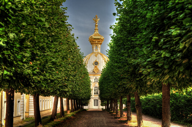 Peterhof Palace (HDR)