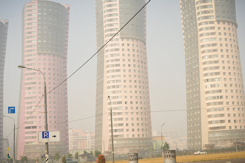 Moscow Smog & Towers