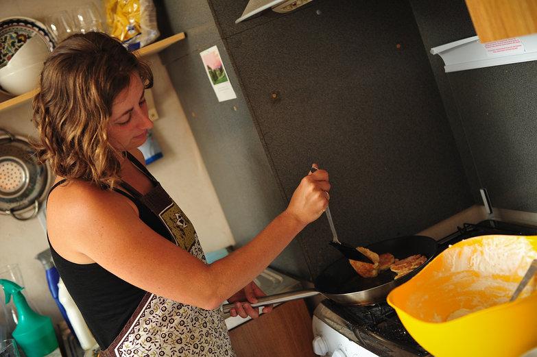 Tara Cooking Serniki (Cheese Pancakes)