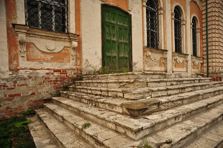 Pereslavl-Zalessky Cathedral Stairs