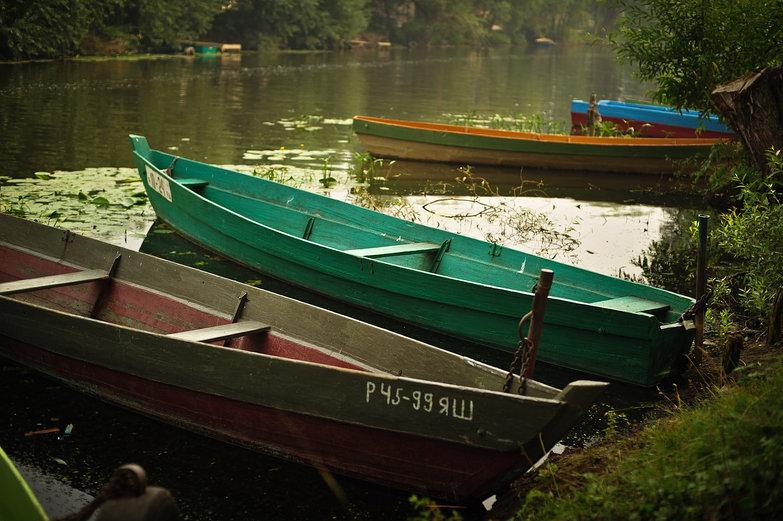 Trubezh River, Pereslavl-Zalessky, Russia