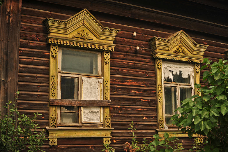 Russian House Windows