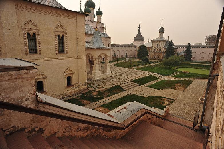 Inside Rostov Kremlin
