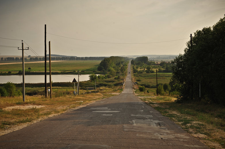 Russian Country Road