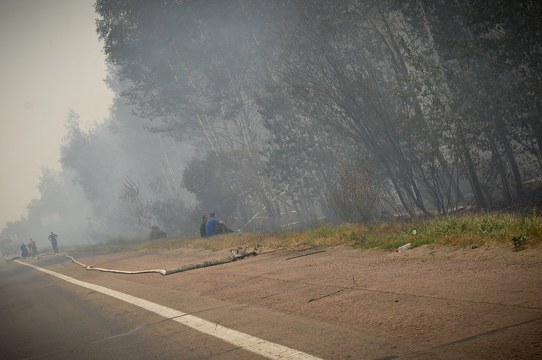 Russian Roadside Fires