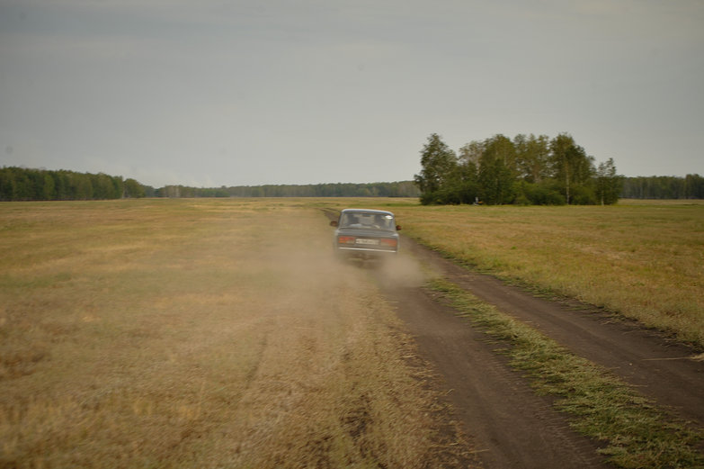 Barreling Through Siberia