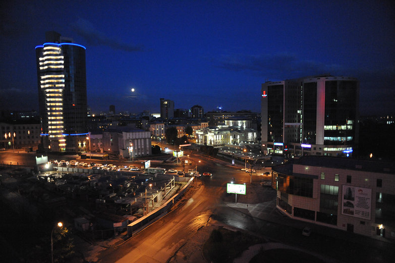 Novosibirsk by Night