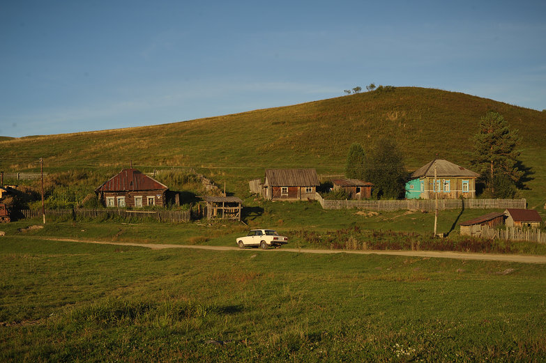 Village in the Altay