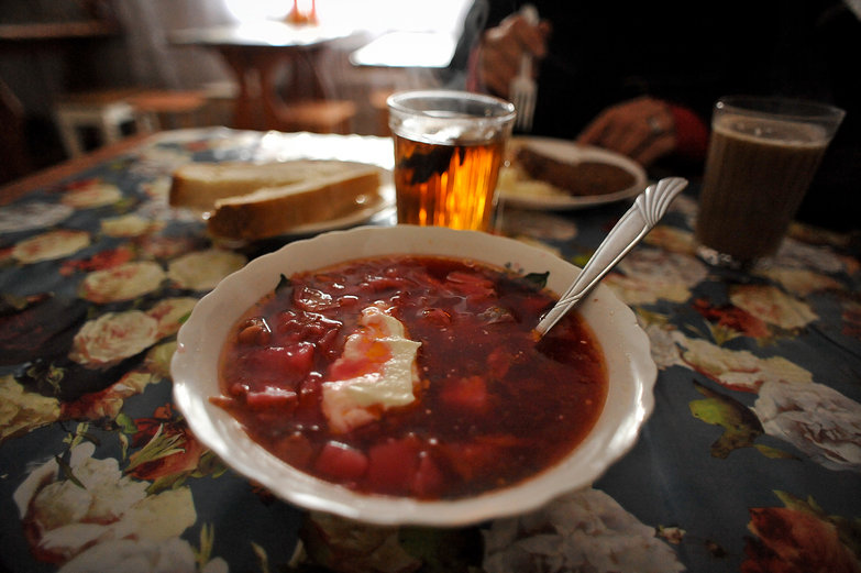 Borscht at the Cafe