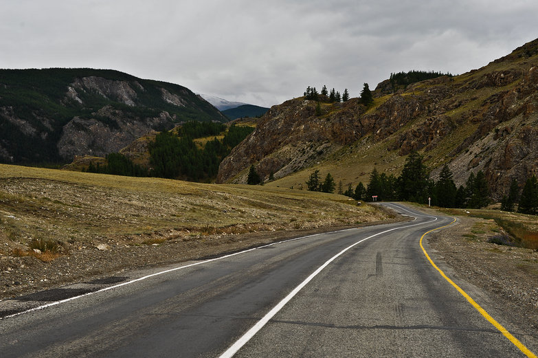 Altay Mountain Road