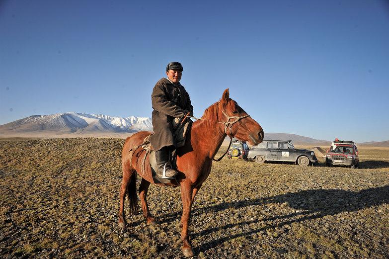 Mongolian Rider