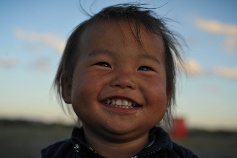 Mongolian Child