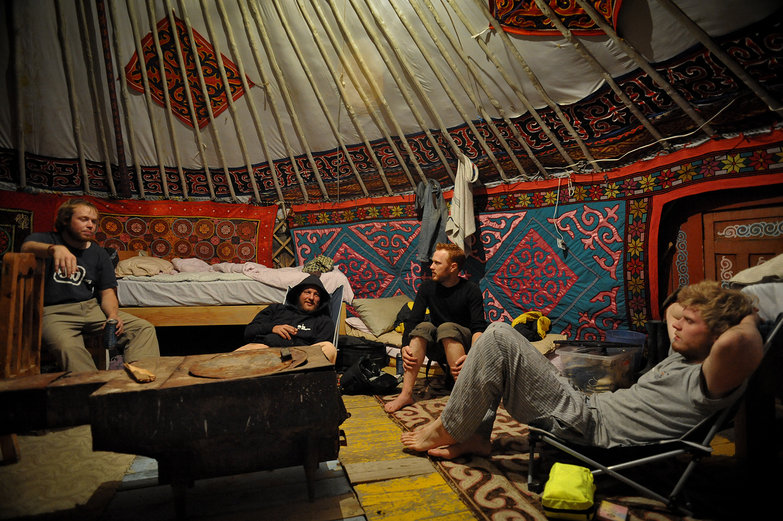Hanging Out in Mongolian Ger