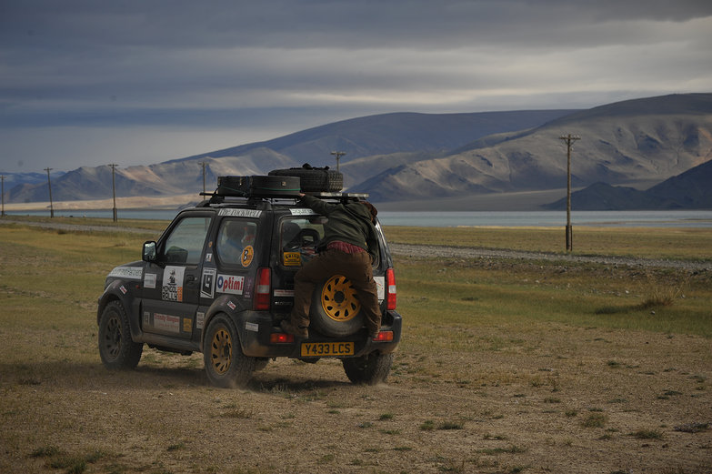 The Chase in Mongolia