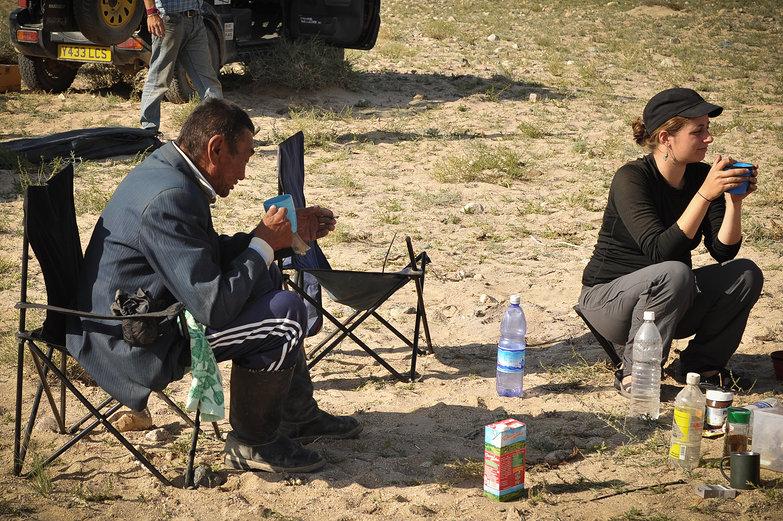 Mongolian Visitor & Tara
