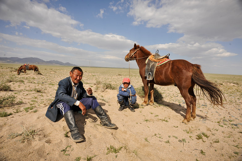 Mongolian Visitors