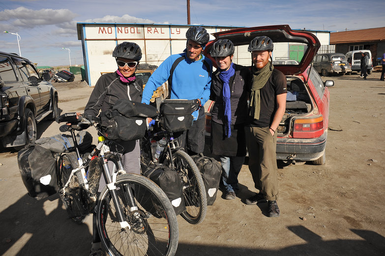 Us & New Cycle Touring Friends