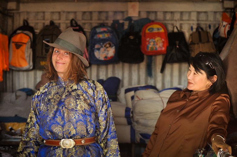Tara in Mongolian Garb