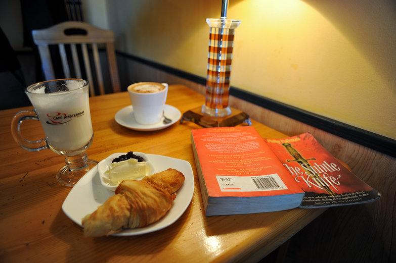 Morning at Café Amsterdam