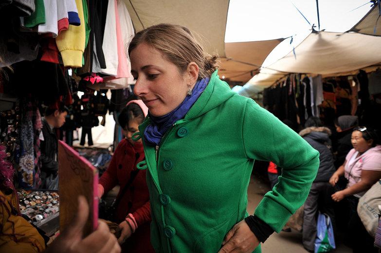Tara in Ulaan Baatar Black Market