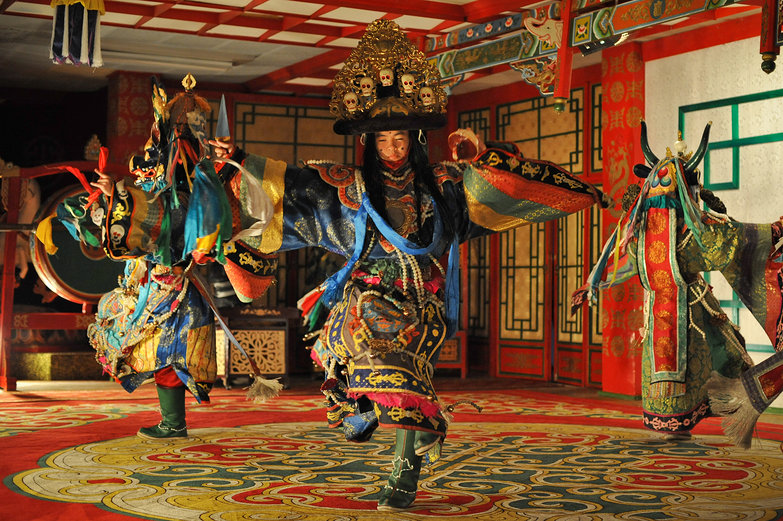 Mongolian Shaman Dance