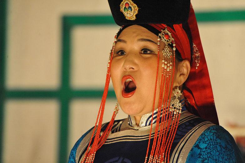 Mongolian Singer