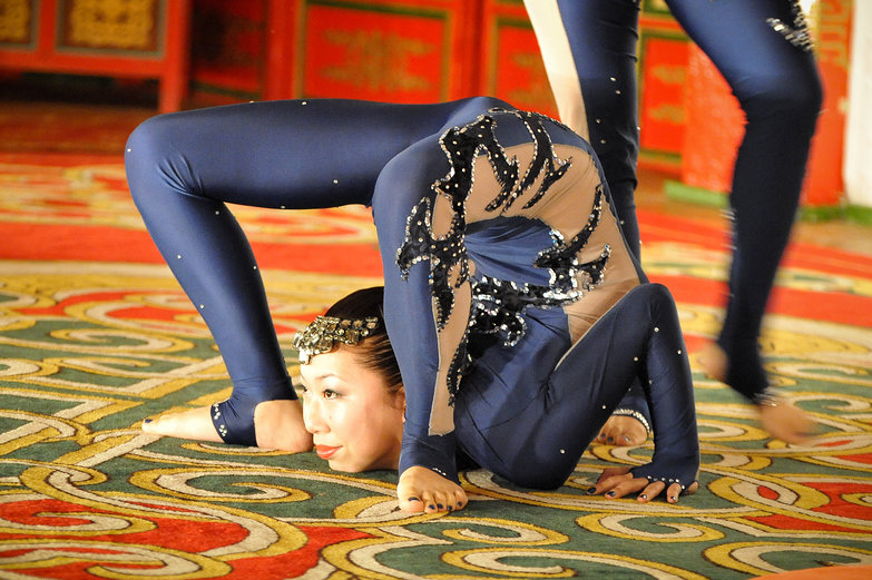 Mongolian Contortionist